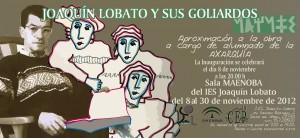 Exposición de Goliardos de Joaquín Lobato